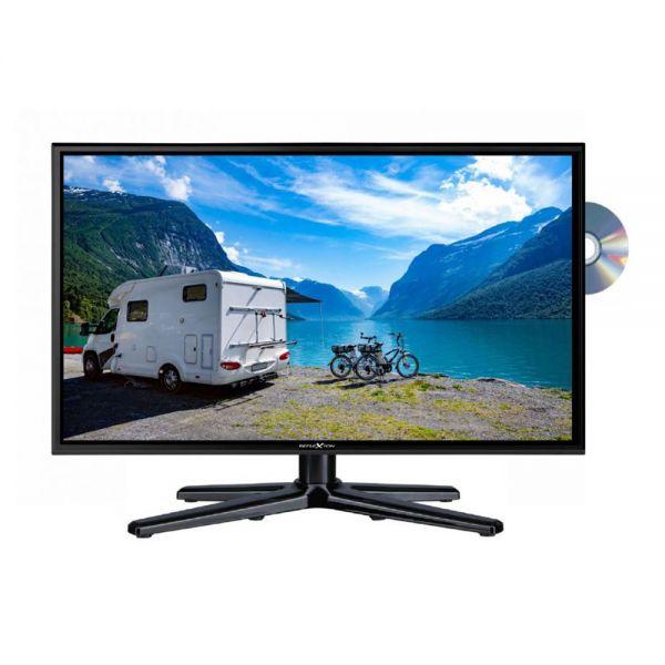 """Reflexion LDDW190 19 Zoll DVD Fernseher 19"""" LED TV DVB-S2 DVB-T2 HD HDTV 12V 230V Camping"""