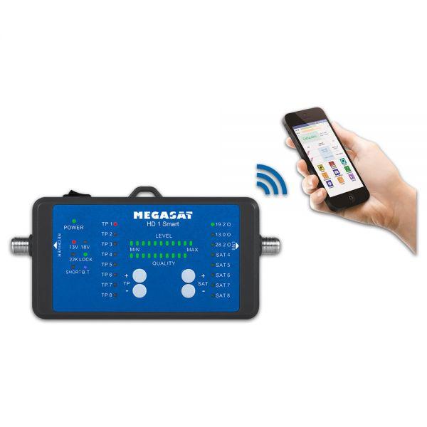 Megasat Satmessgerät HD 1 Smart DVB-S2 Satelliten Messgerät HD1 App