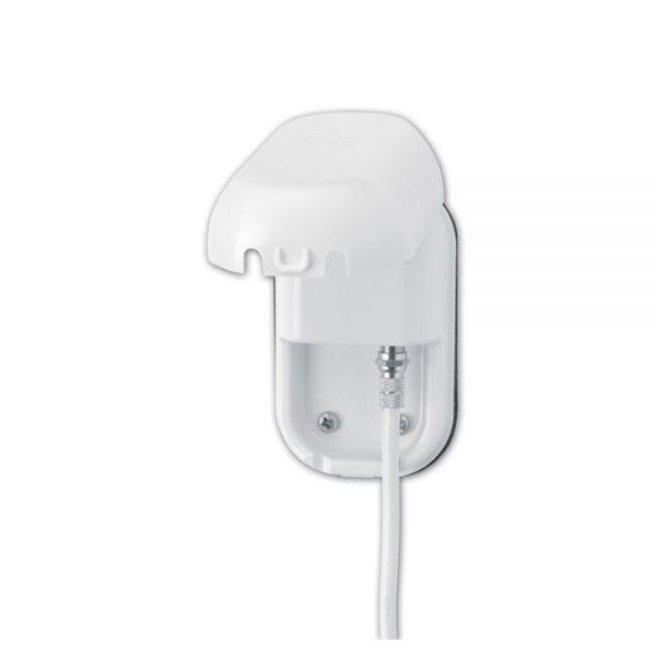 Maxview Antennen Außensteckdose für F-Stecker F-Anschluss weiß Sat
