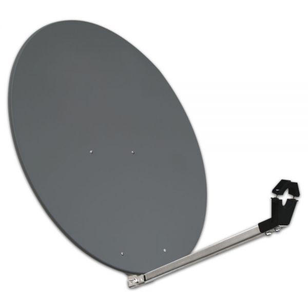 80cm Megasat Aluminium Classic Sat Spiegel SQ Antenne Alu Satelliten anthrazit 80 cm