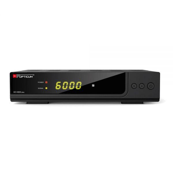 Opticum HD X300 plus HDTV Sat Receiver 12V 230V USB Camping Full HD 1080p