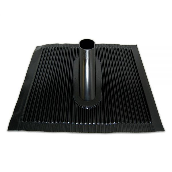 Dachziegel Kunststoff- Alu Kunststoffziegel Sat Montage 500x 440mm schwarz anthrazit