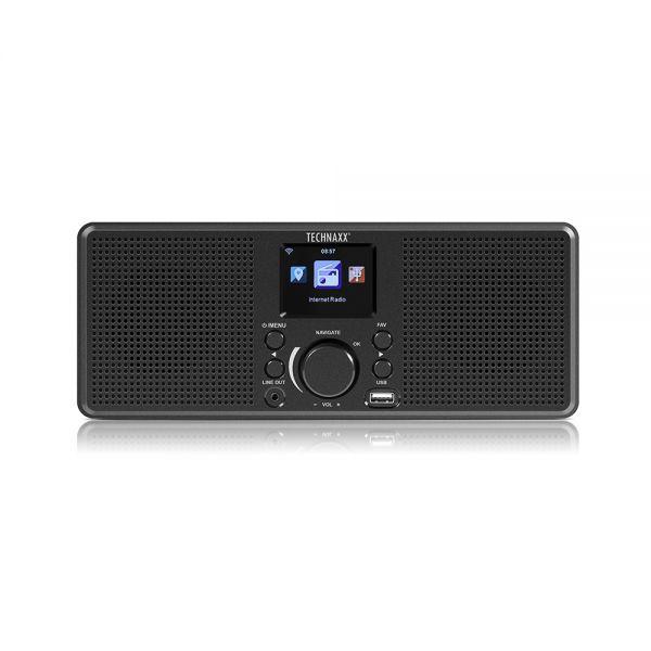 Technaxx Internetradio Stereo TX-153 WLAN Radio Wetterstation FM