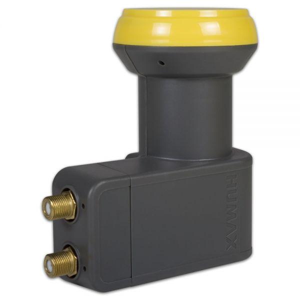 Humax 122 Gold Twin Sat LNB HD 40mm feed Satelliten 0,1dB Digital HDTV