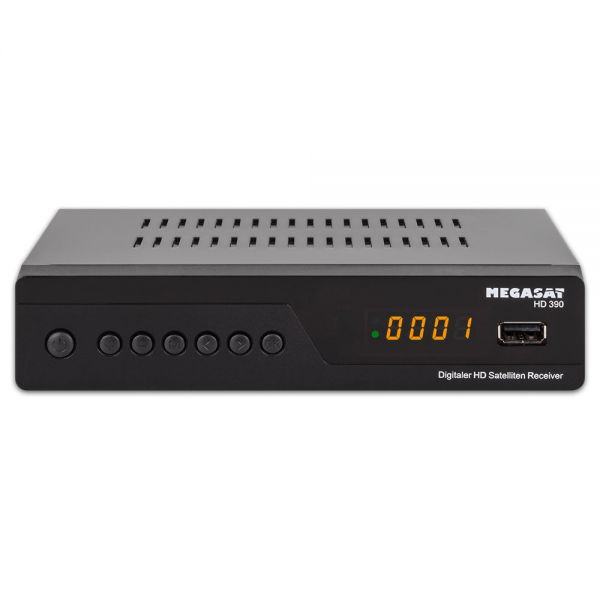 Megasat HD 390 HDTV Sat Receiver digital Full HD 1080p USB Unicable gebraucht