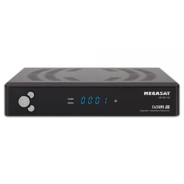 Megasat HD 601 V2 HDTV Sat Receiver digital Full HD 1080p USB Unicable