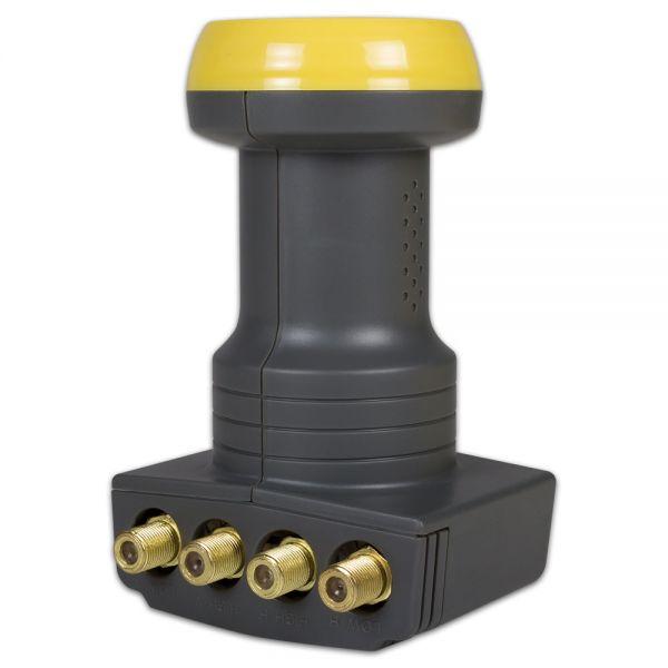 Humax 106 Gold Quattro Sat LNB HD 40mm feed Satelliten 0,1dB Digital HDTV