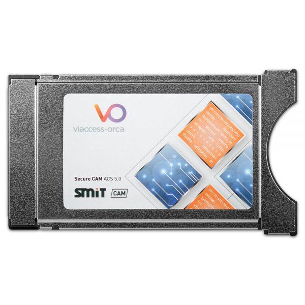 Smit Viaccess Orca Secure Cam ACS 5.0 Dual Cam CI Modul 64 Bit