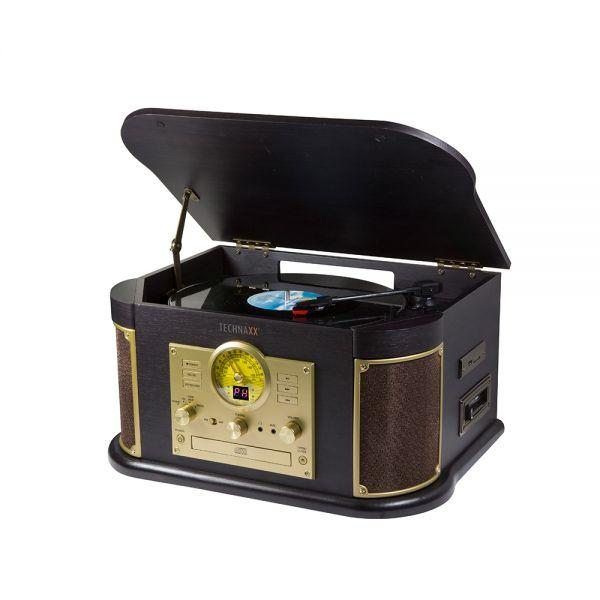 Technaxx TX-103 Nostalgie Bluetooth Plattendigitalisierer All-in-One